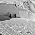 インドで発生した高さ4m、幅1kmのモンスター級雪崩。破断面が。。。