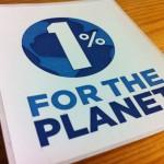 改めて「1% for the Planet」
