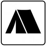 自然公園公共標識の標準表示例_camp