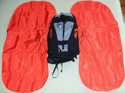 Avalanche airbag system 02