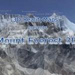 エベレストの3D地図、「EVEREST 3D」がなんかスゴイぞ