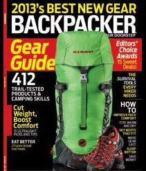 Gear Guide 2013 ChartsBackpacker
