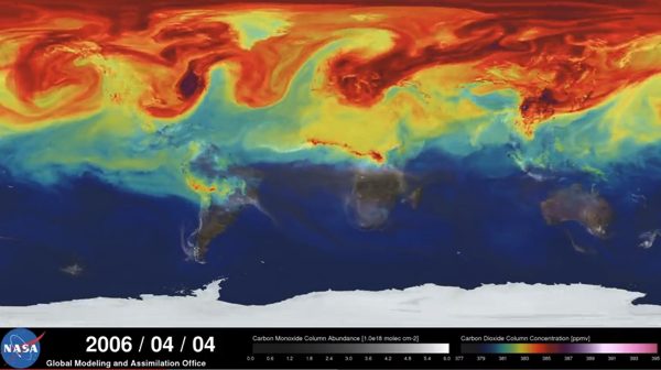NASA A Year in the Life of Earth s CO2