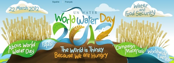 World Water Day 2012  Water and Food Security  22nd March 2012