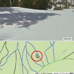 アップデートしたGoogleマップのスキー場コースマップ、やるね、日本でもなにとぞ!