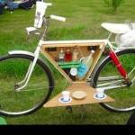 自転車がバーに早変わり!?ぜひともDIYしてみたい「Bike Bar」