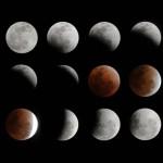 皆既月食のステキな写真あれこれ