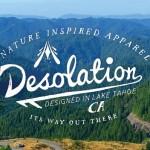 レイク・タホ発のアウトドアアパレル「DESOLATION」のブランディング動画が美しくてナイス