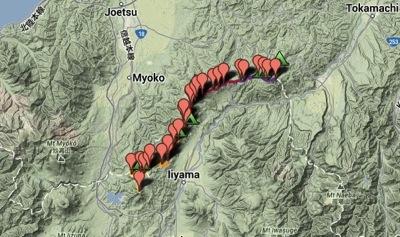 信越トレイル Shinetsu Trail