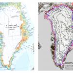 最新のタイムズ世界地図帳、グリーンランド氷床の分布は間違い!?