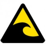 津波のピクトグラム
