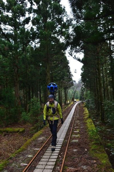 Yakushima trekker1